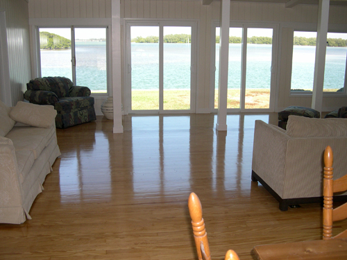 Refurbished Wood Flooring & Painting
